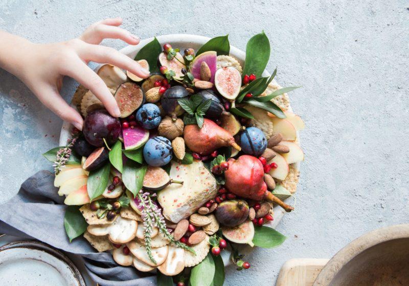 instagrammable, vegetarian cheese platter, grazing board